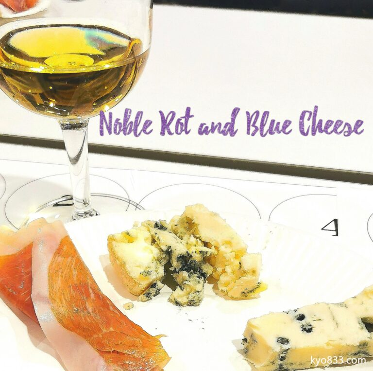 Noble Rot and Blue Cheese